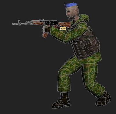 3ds Max Model Pc Game Soldier Model 3d Model Download