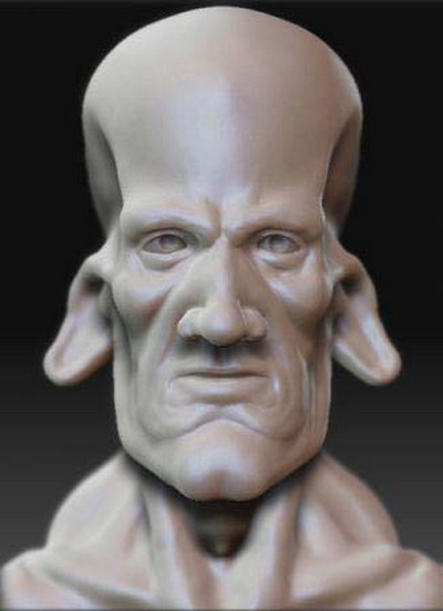 Body Part 3Ds Max Model£ºMonster Head Model