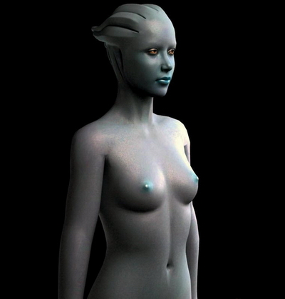 Female Body 3Ds Max Model
