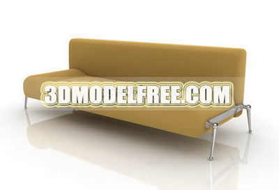 Modern Furniture Model£º Yellow Lounge Armchair Livingroom Furniture