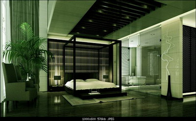 Chinese bedroom 3d models
