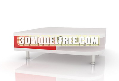White side table 3D models