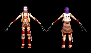 PC Game Character: Assassin 3D Max Model