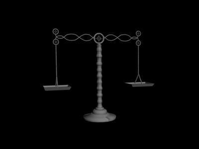 3D Model: Balance 3DS MAX Model