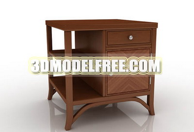 Simple wood cabinets lockers cabinet furniture finishing and practical 3D model of