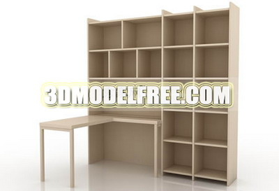 Simple-type furniture 3D Models