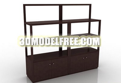 Solid Wood Dresser on Wooden Bed Table  Dresser Solid Wood Furniture  Wooden Table 3d Model