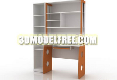 Bed desk wardrobe lockers, benches and practical 3D Models