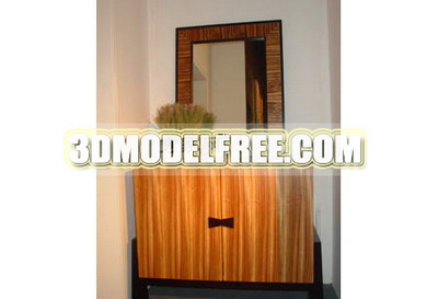 Warm bedroom furniture 3D Models