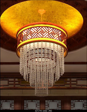3d model of chinese style crystal chandelier 3d model downloadfree 3d models audiocablefo