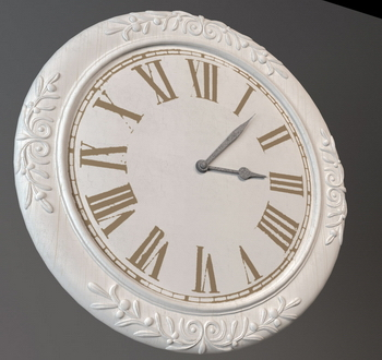 3d Model Of European Style Wall Clock 3d Model Download