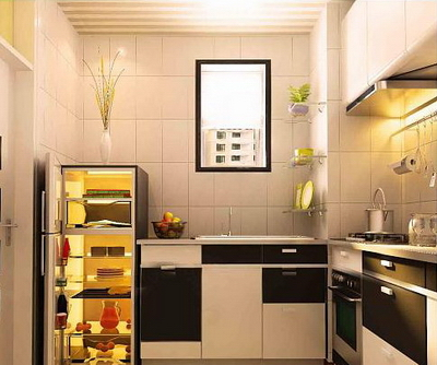 Small Sized Interior Design Kitchen Model 3d Model Download Free 3d
