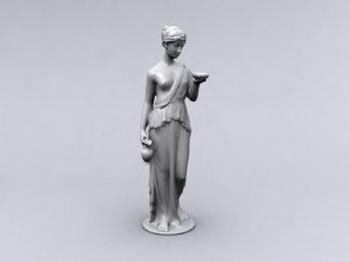 Odalisque Sculpture 3d Models 3d Model Download Free 3d