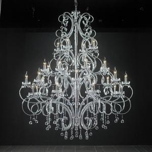 Modern crystal chandelier model 19 3d model downloadfree 3d 3d models mozeypictures Images
