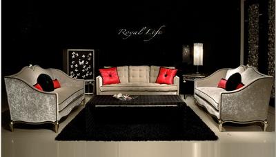 Luxury European-style sofa 3D Models