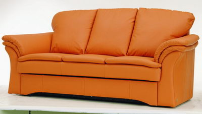 Orange Leather Sofa 3d Model Download Free 3d Models Download