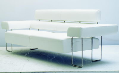 modern and white sofa