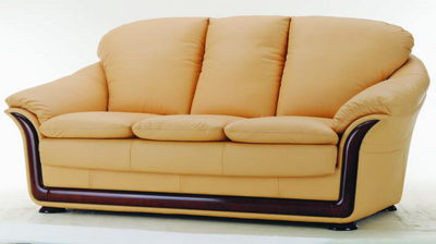 orange and soft sofa