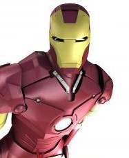 3D Model of Iron Man