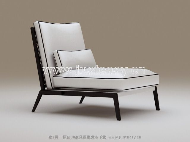 Classic black and white chair