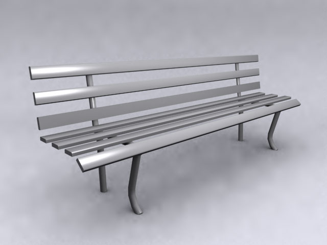 Public Bench 3d Models 3d Model Download Free 3d Models