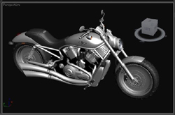 Taizi cruise motorcycle 3D models