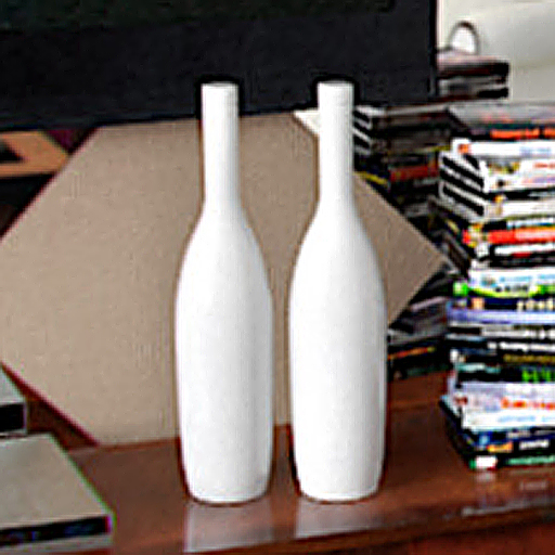 Pure white vase adornment
