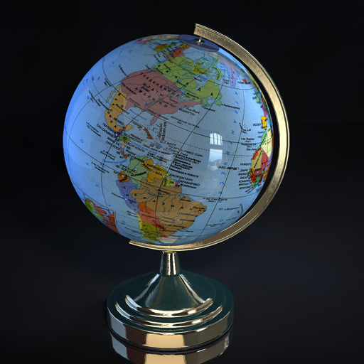 Globe map 3d selol ink globe map 3d gumiabroncs Image collections