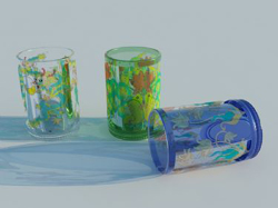 Personality children cups 3D models