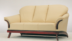 3D models over the yellow sofa at home (including materials)