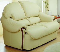 Light color cortical double soft sofa 3D models (including material)