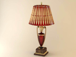 Trophy type desk lamp 3D models