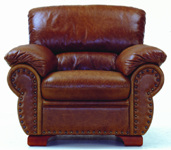Single cowhide boss chair 3D models