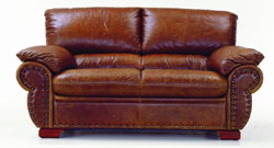 Double cowhide villa receive a visitor sofa 3D models
