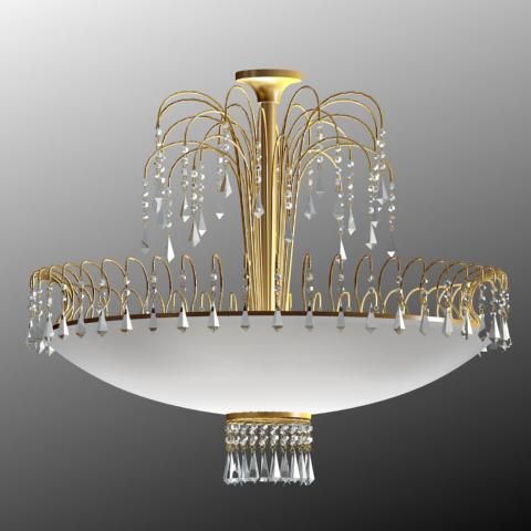Classical crystal droplight
