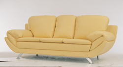 Fashion yellow people sofa 3D models