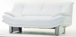 Double white cloth art sofa character of soft 3D models