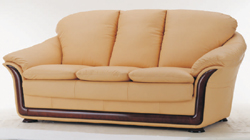 Soft sofa cloth art yellow people 3D models