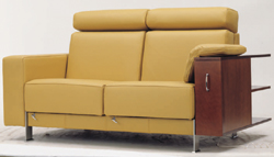Yellow cortex multiplayer soft sofa 3D models