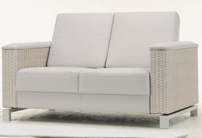 Cloth art sofa weave double
