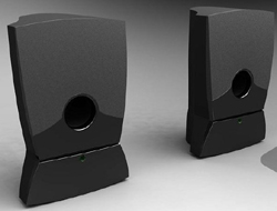 Small speakers amplifier 3D models