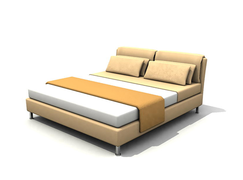 Modern furniture vogue double bed