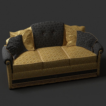 European luxury people sofa