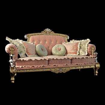 European luxury palace sofa