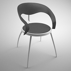 Fashion simple chair 3D models