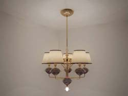 European retro iron chandelier