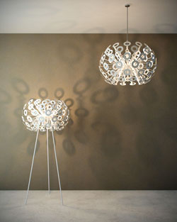 European Round Nest Chandelier Creative