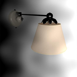 Elegant Chinese interior wall lamp shade