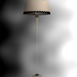 Chinese retro single pole floor lamp shade
