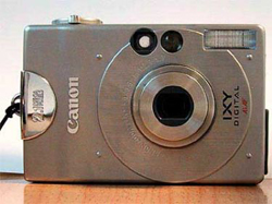 Canon digital camera silver